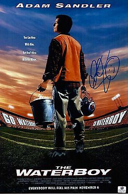 Adam Sandler Signed The Waterboy 10x15 Movie Poster Photo COA 625787