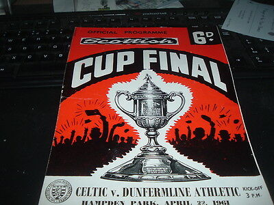 1961 Scottish Cup Final Dunfermline v Celtic