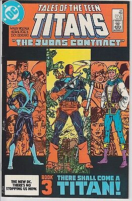 1984 DC Comics Tales of the Teen Titans # 44 1st Nightwing