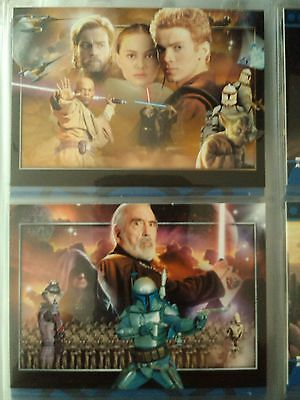 Star Wars : Attack of the Clones 80 Base Set Topps UK - 2002