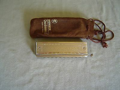"Vintage Hohner Chamber-Huang System ""chordomonica I"" Chordal Harmonica In ""c"" Wi"