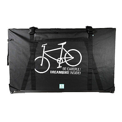 Ambrosio Compact Hard Case Bike Box - Cycle Airport Transport Travel Bag