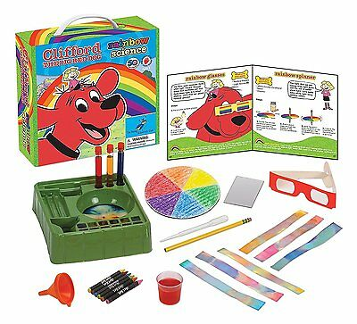 Clifford Rainbow Science Clifford the Big Red Dog