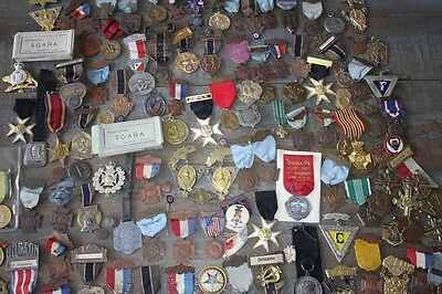 Large Lot of Late 1800s-Early 1900s Medals and Pins,Woman's Relief Corps,VFW,GAR