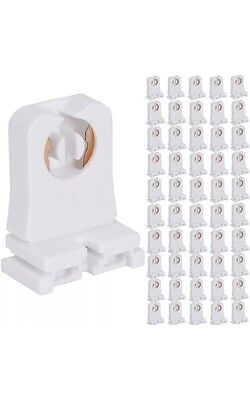 400 Non-shunted UL Listed T8 Lamp Holder Tombstone Sockets LED Fluorescent Tube