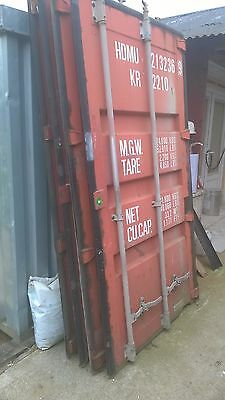 Container Doors X4 For Re-Use / Project / Urban Garden Etc.