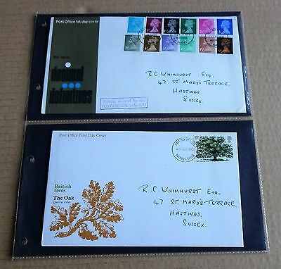 LOT OF 4 x USED GB FIRST DAY COVERS (FDC)  1971-1974   LOT 3