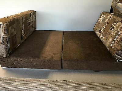 RV  Dinette Booth Cushion Covers Trailer Camper Brown 32 inch