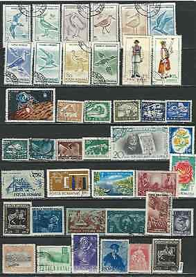 #7565 ROMANIA Lot of Used Stamps