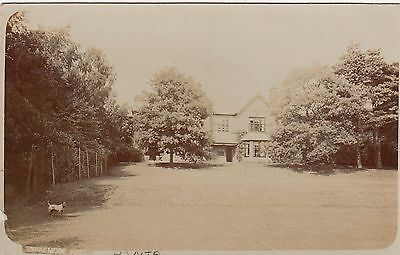Snakemore Hall, Country House, Botley, Hampshire. Rp, 1908.