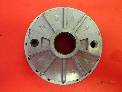 """Race go kart shifter tag vintage NEW NOS HORSTMAN CLUTCH COVER 4.5"""" OD 3.7"""" ID"""
