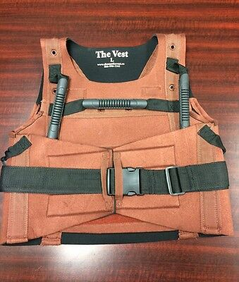 SDS MEDICAL RED SDS LIFT PATIENT TRANSFER VEST EXTRA LARGE (46-52 inches)