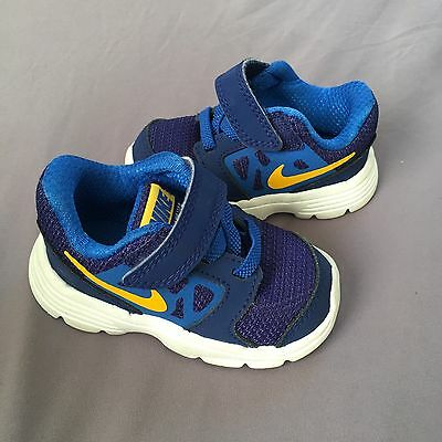 Nike Toddler Shoes Downshifter 6 Size 4C Blue