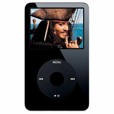 Apple iPod classic 5th Generation Black (80GB) -New Other- Search Fnct & Wolfson