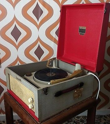 Vintage 1950`s Dansette Major, Fully Serviced