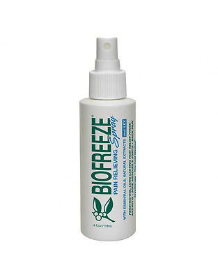 Biofreeze Spray Topical Pain Reliever Training Cold Ice Muscle Therapy Relief