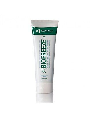 Biofreeze Tube Topical Pain Reliever Training Cold Ice Muscle Therapy Relief