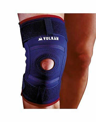 Vulkan Classic 3071 Hinged Knee Open Patella Buttress Comfort Compression Strap