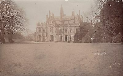 Snelston Hall, Lost Country House, Derbyshire. Rp, 1914.