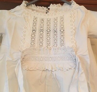 Victorian Children's Cotton Nightgown