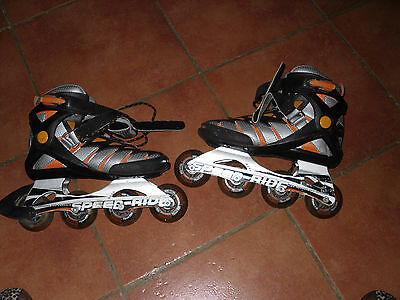 ROLLERS spide ride, alu chassis, taille 38 (roue 72 mm82A) peu servis