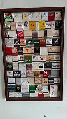 Vintage matchbook collection
