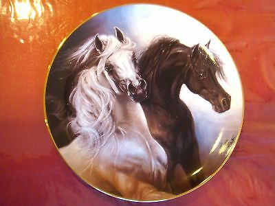 Set Free   Horse Plate By Susie Morton  With Coa