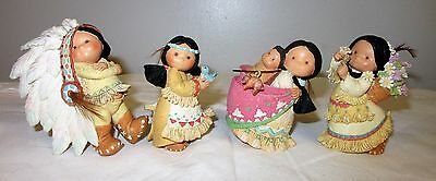 Friends of the Feather Enesco 1994  lot of 4