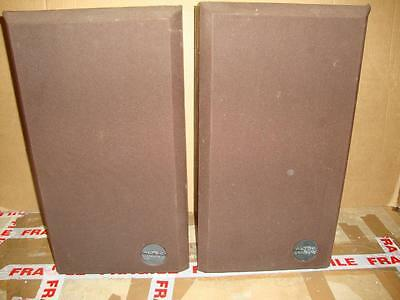 Altec Lansing One Speakers-Made in USA-RARE-Superb Sound.