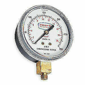 PROTO Compression Gauge,2 1/2 In,For 4R388, JCTG1
