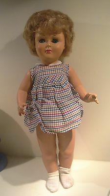 bambola vintage anni 50 old doll poupee
