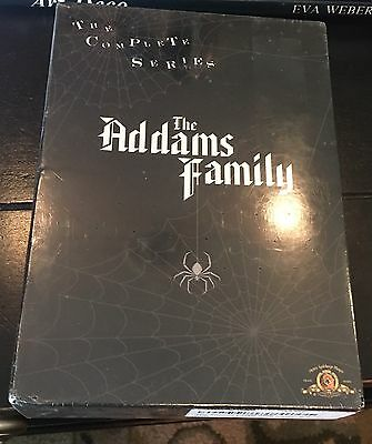 The Adams Family Complete Series Dvd Box Set Classic Brand New-- Never Opened