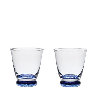 Denby Set Of 2 'Imperial Blue' Small Tumblers From Debenhams
