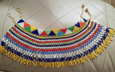 Elegant South African Handmade Beaded Necklace New
