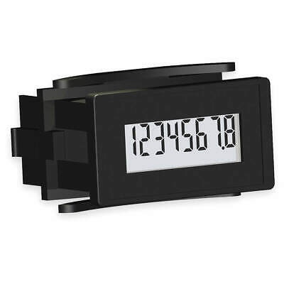 REDINGTON LCD Hour Meter,Rectangular,Dry Contact, 6320-0500-0000