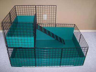 "* NEW * LARGE 42"" x 28"" Guinea Pig cage with 2nd level"