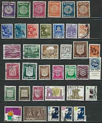 #7611 ISRAEL Lot mostly Used Stamps