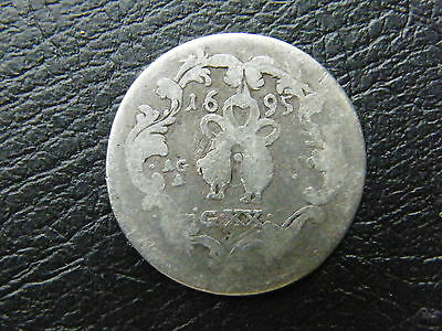 Kingdom of Naples Tari - 20 grana1695 Italy Napoli