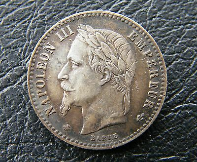 France 50 Centimes 1865 Paris A