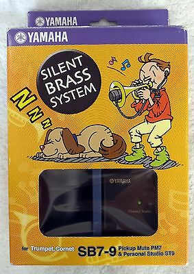 Yamaha SB7-9 SB79 Silent Brass System for Trumpet and Cornet