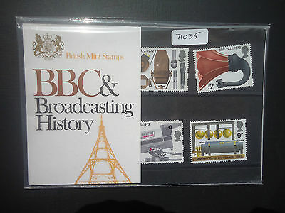 Great Britain Presentation Pack 1972 BBC MNH