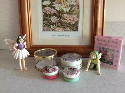 Collection of Cecily Mary Baker Flower Fairy Collectables.