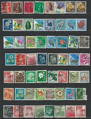 #7621 JAPAN Lot of Used Stamps