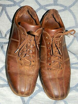 Cole Haan Nike Air Men's Casual Brown Leather Shoes SZ 13M