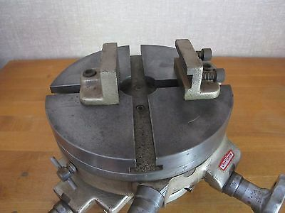 """Craftsman Palmgren 8"""" three axis rotary table round and accessories"""