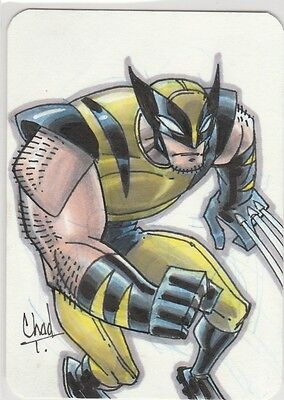 WOLVERINE  PSC sketch by CHAD TOWNSEND