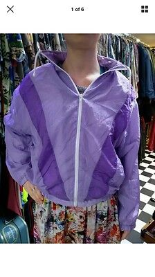 Vintage Shell Suit Jacket 80s 90s Tracksuit