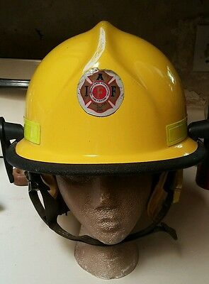 Firefighter Helmet N660C Metro Cairns and Brother Vintage Yellow Unique