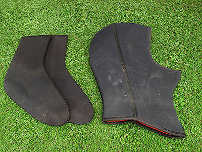 Dive Hood And Socks Size Medium Used Condition As Pics Shown