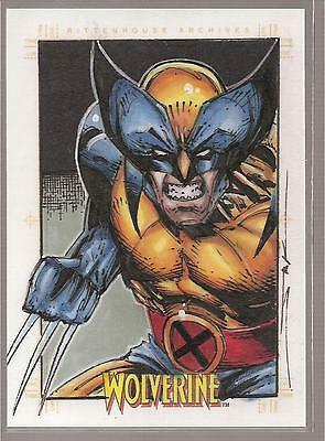 2009 Marvel X-Men Origins: Wolverine sketch by JIM KYLE